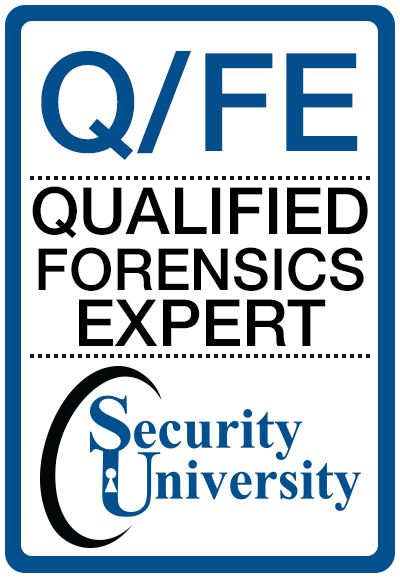 Security University - Q/FE Qualified/ Forensic Expert Class | CHFI ...