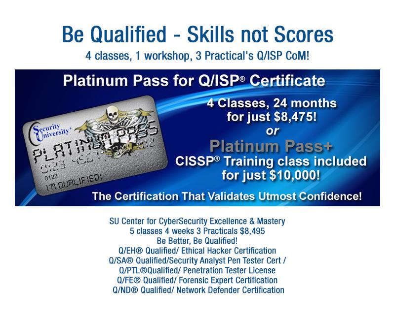 Security University Cissp Training Comptia Security Qisp